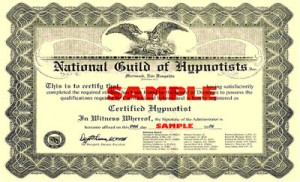 Professional Hypnosis Certificate